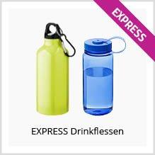 Express drinkflessen bedrukken