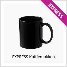 Express koffiemokken bedrukken