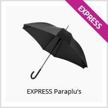 Express paraplus bedrukken