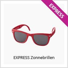 Express zonnebrillen bedrukken