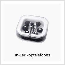 In-ear koptelefoons als relatiegeschenk