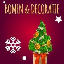 Kerstbomen en Decoratie relatiegeschenken