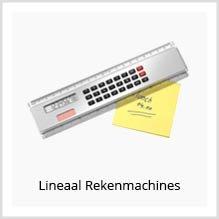 Lineaal Rekenmachines als relatiegeschenk