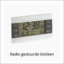 Radio gestuurde klokken als relatiegeschenk