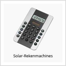 Solar-Rekenmachines als relatiegeschenk
