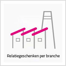 Relatiegeschenken per branche