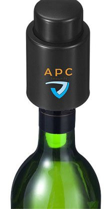 Wijnstopper met logo bedrukt