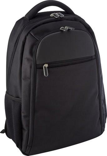 Polyester laptop-/rugtas (1680D) 'Mondrian'