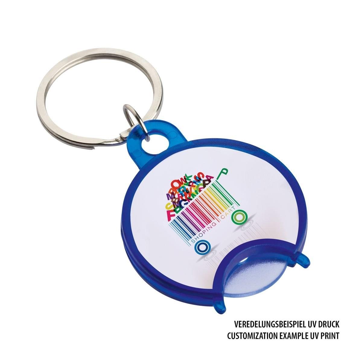 Winkelwagenmunthouder / sleutelhanger REFLECTS-TAL, View 4