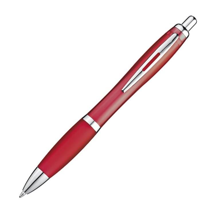 Pen met zilveren metalen clip, View 2