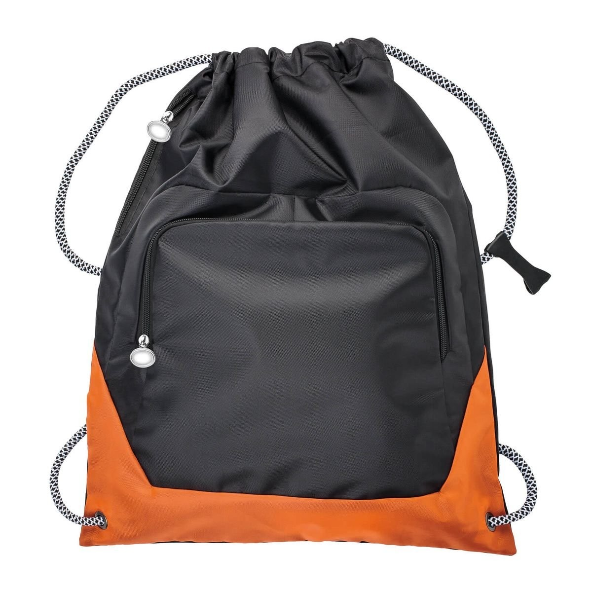 Tas met trekkoort REFLECTS-SUNDSVALL BLACK GREY