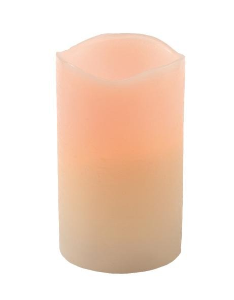 "LED candle, Frosty skin ""Vanilla Sky"""