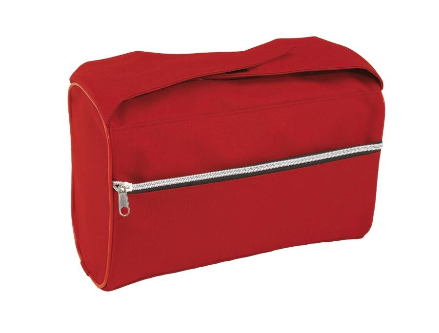 """Toilet bag """" Daily"""" 600-D, red"""