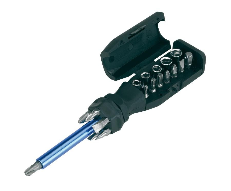 Screw driver set with magnetic holder