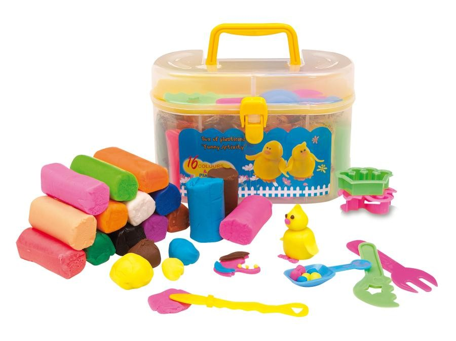 "Box of plasticine ""Funny Activity"""