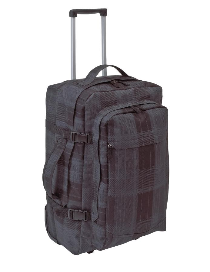 Trolley- backpack  'Checker'  600D,grey
