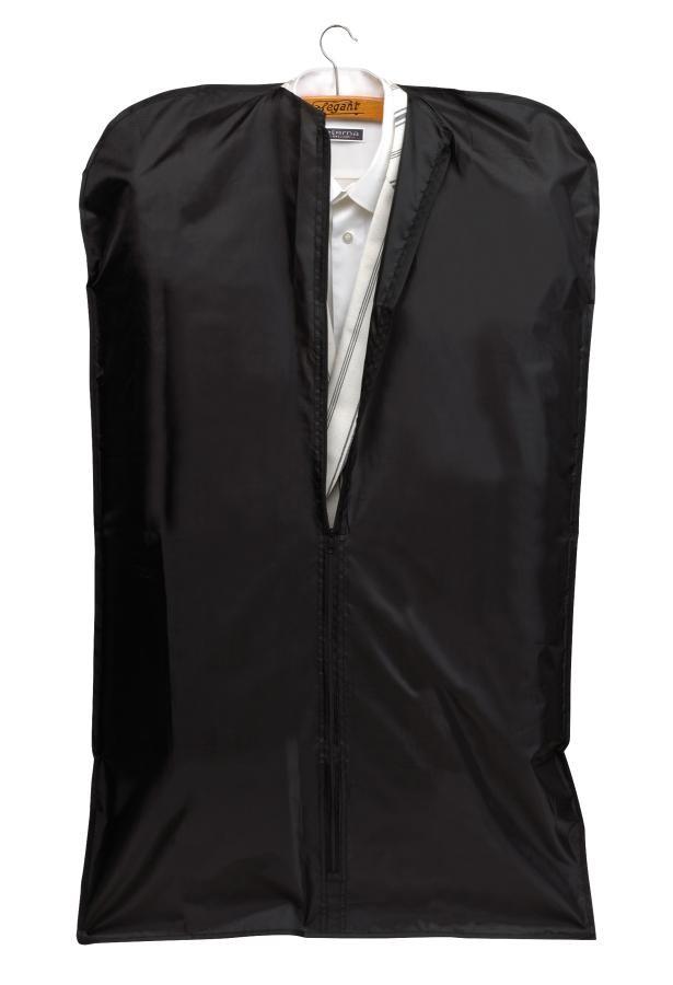 """Garment bag""""Suit""""foldable black"""