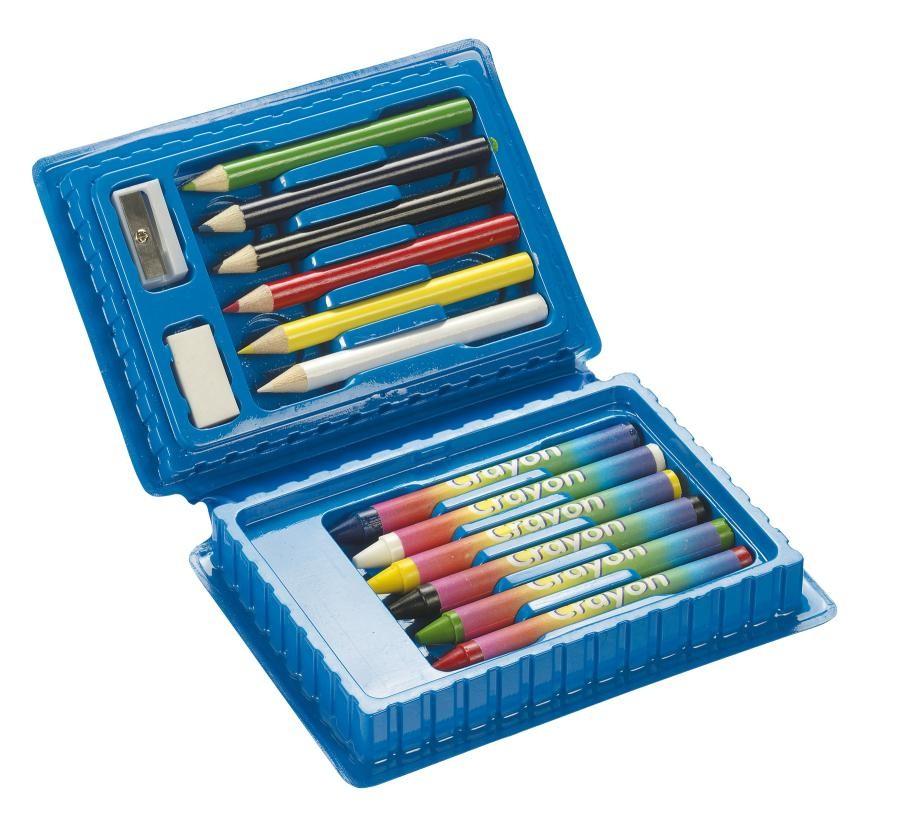 """Mini colouring set """"Art"""", 14pcs."""