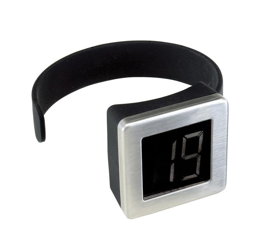 Digital bottle thermometer