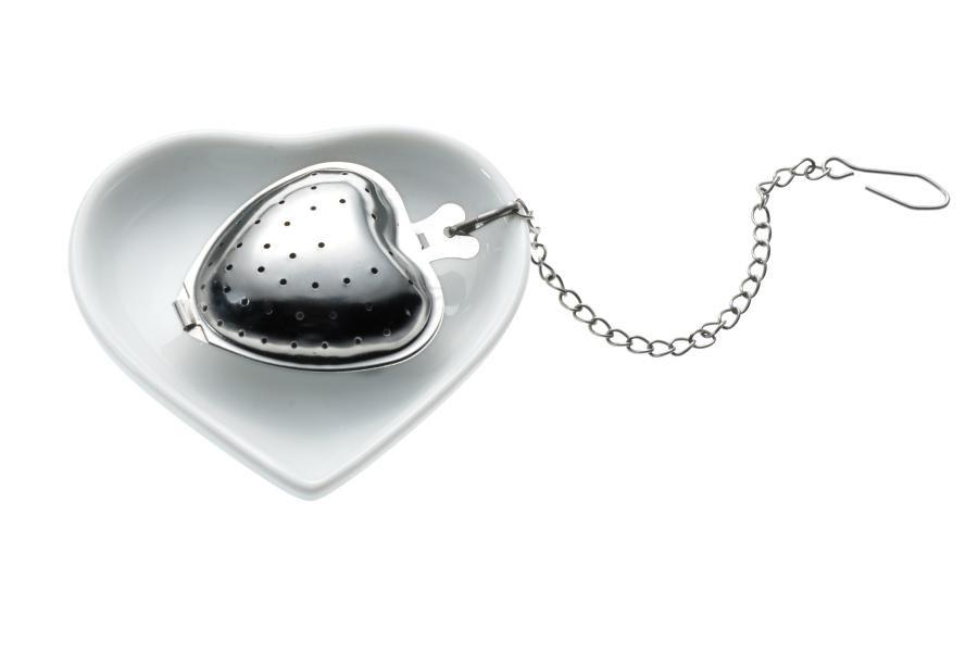 """Tee-egg with Heart cup """"TEA & HEART"""""""