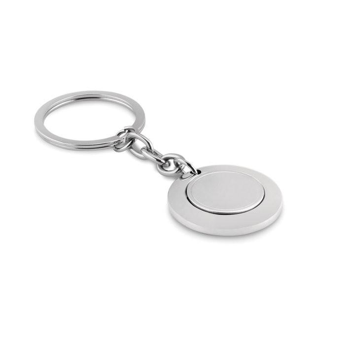 Sleutelhanger met munt FLAT RING, View 2