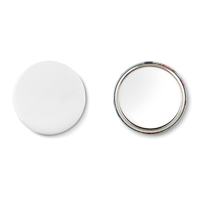Metalen button MIRROR
