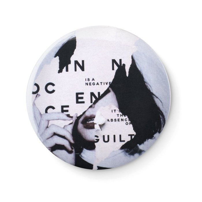 Metalen button PIN, View 6