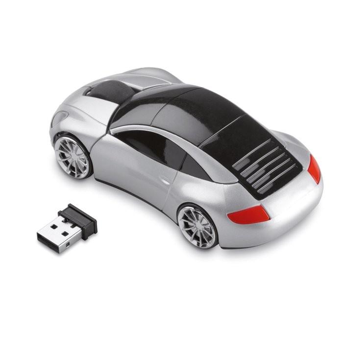 Autovormige draadloze muis SPEED