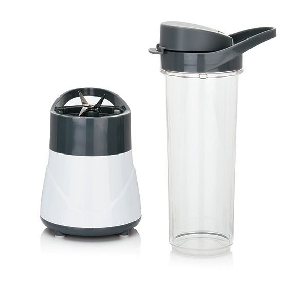 Smoothie 2 Go mini blender 300W, wit/grijs, View 3