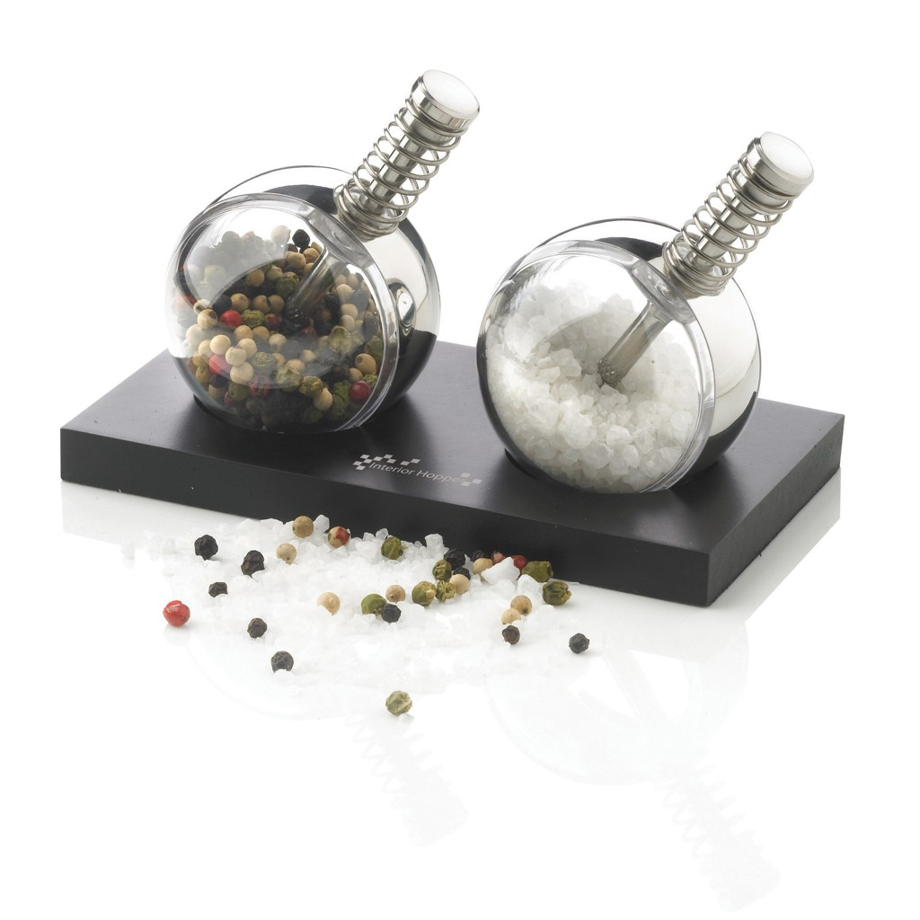Planet peper & zout set, zwart, View 15