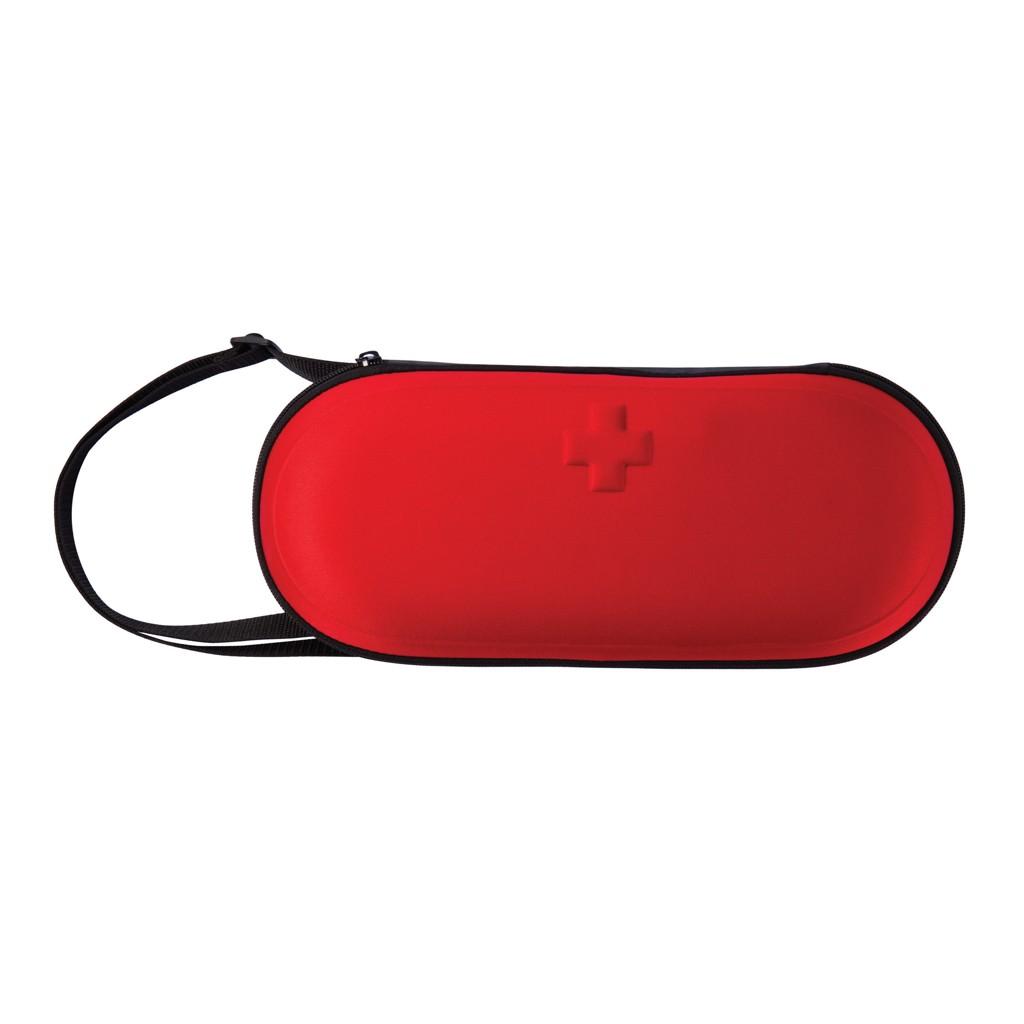 47 delige auto eerste hulp set, rood/zwart, View 3