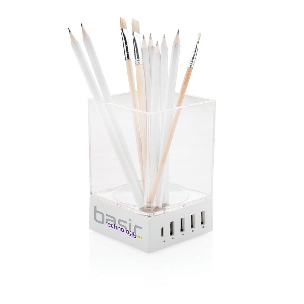 Pennenbakje met USB oplader, View 7