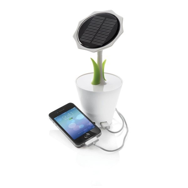 Solar sunflower 2500mAh, wit