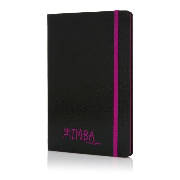 A5 notitieboek met gekleurde zijde, View 7