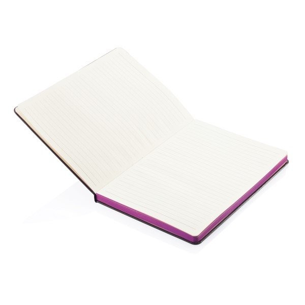 A5 notitieboek met gekleurde zijde, View 4