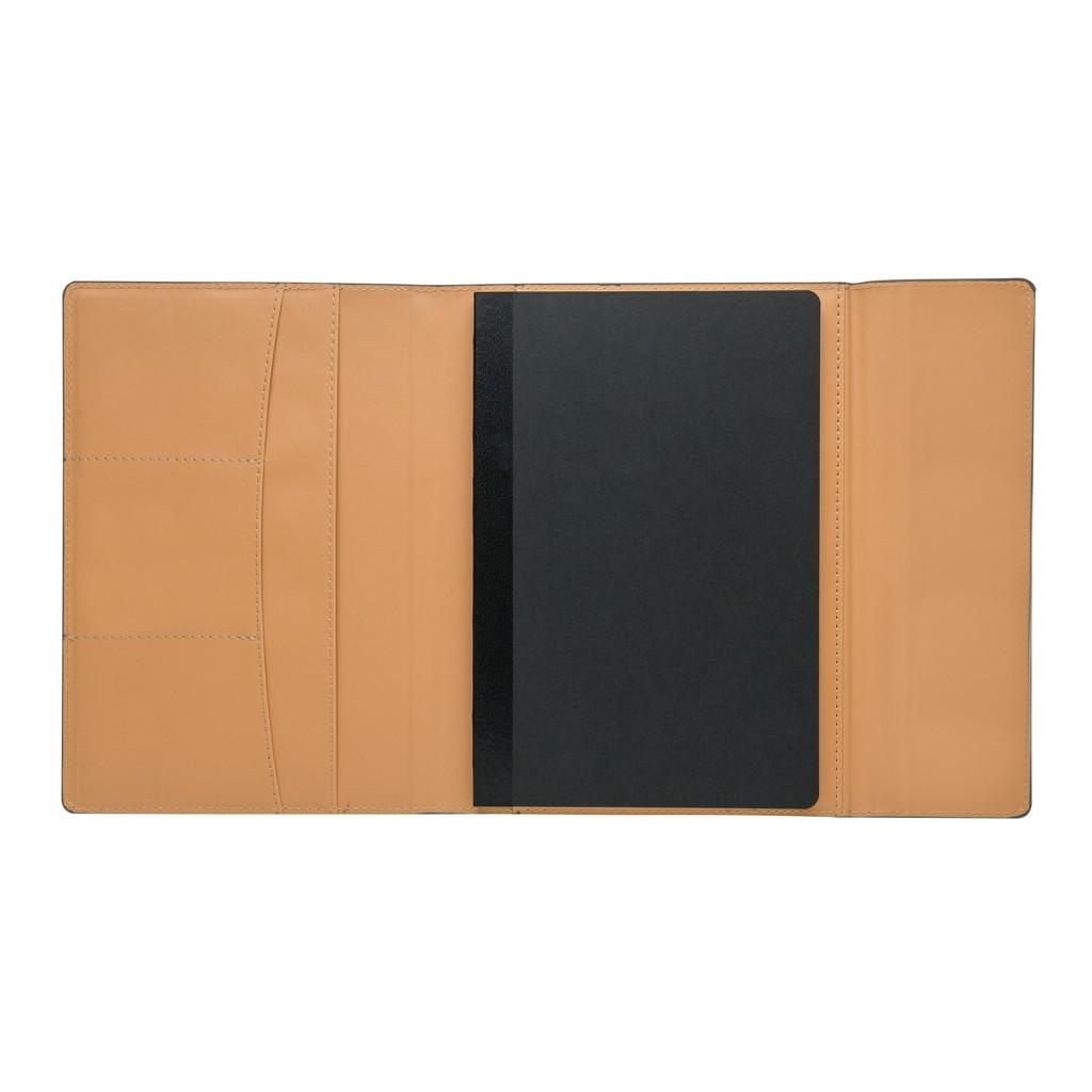 A5 Deluxe design notitieboek omslag, grijs, View 6