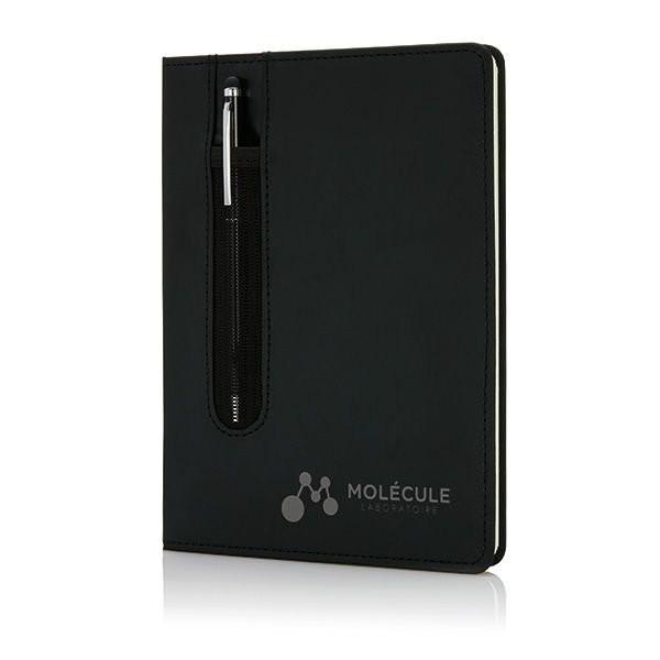 Deluxe A5 notitieboek met stylus pen