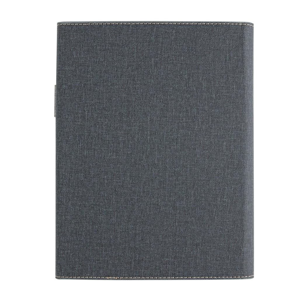 A5 Deluxe design notitieboek omslag, grijs, View 5