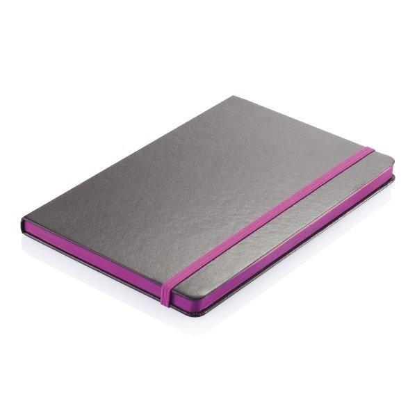 A5 notitieboek met gekleurde zijde, View 3