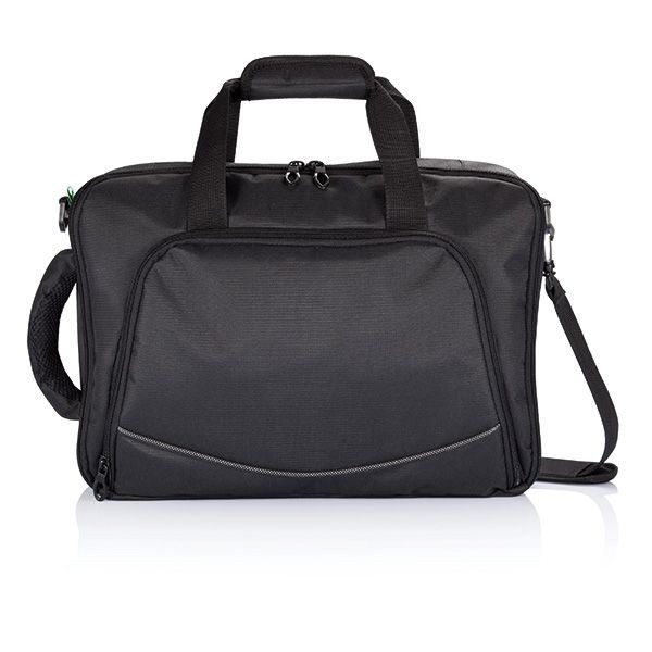 Florida laptop tas/rugtas, zwart, View 4