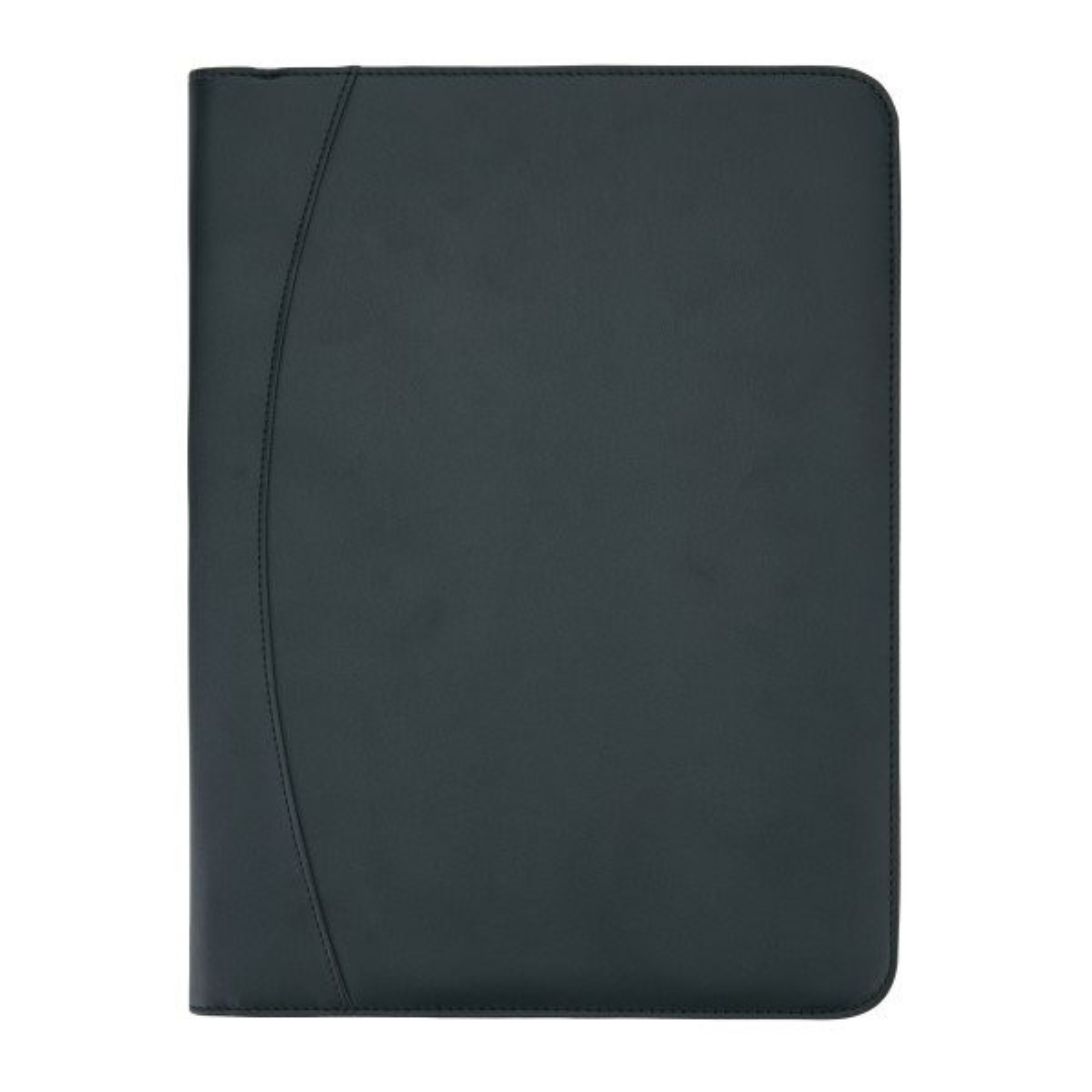 Essential tech portfolio met rits, zwart, View 7