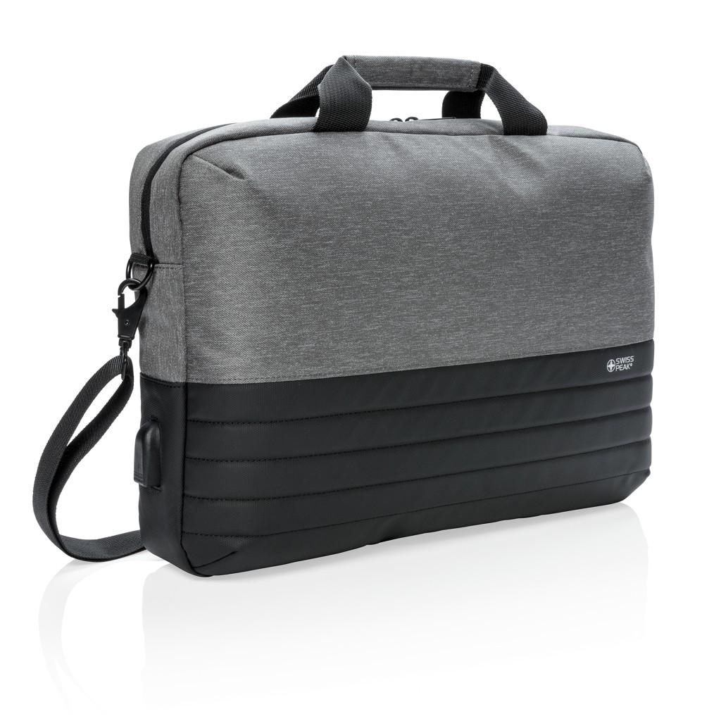 """Swiss Peak RFID 15"""" laptoptas"""