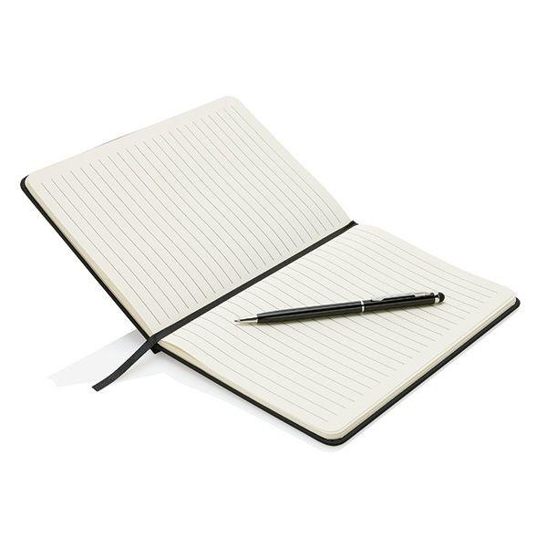 Deluxe A5 notitieboek met stylus pen, View 2