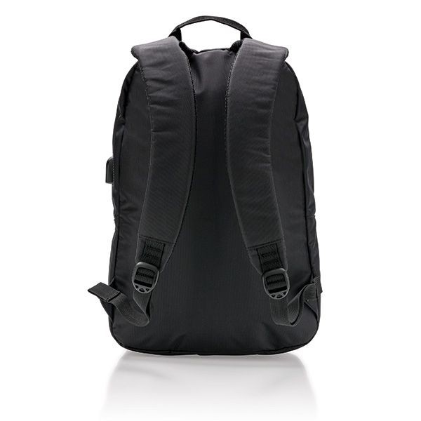 Power USB laptop rugzak, zwart, View 5