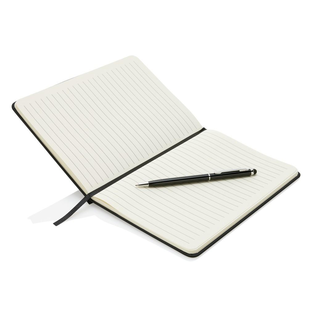 Deluxe A5 notitieboek met stylus pen, View 4