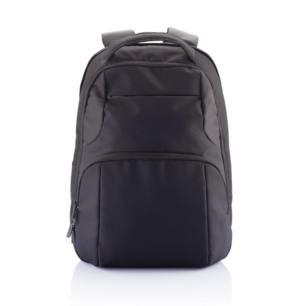 PVC vrije universele laptop rugtas, zwart, View 13
