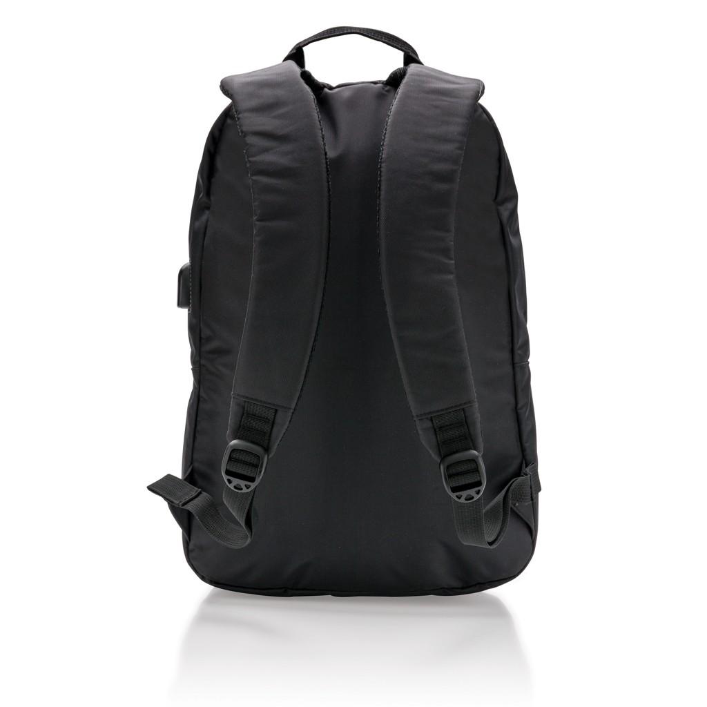 Power USB laptop rugzak, zwart, View 10