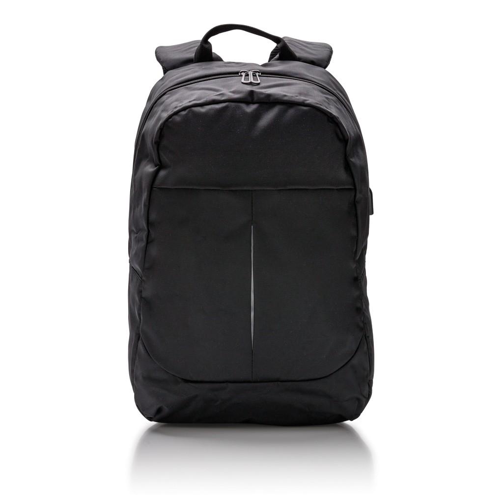 Power USB laptop rugzak, zwart, View 8