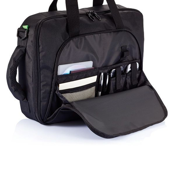 Florida laptop tas/rugtas, zwart, View 6