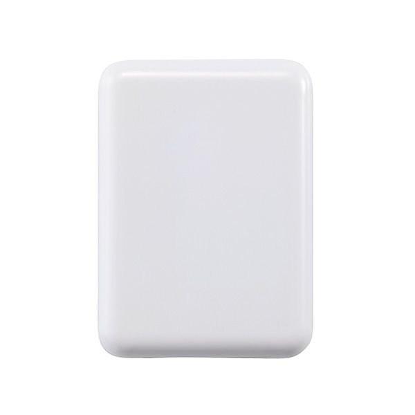 Reisstekker met 4 USB poorten, wit, View 5
